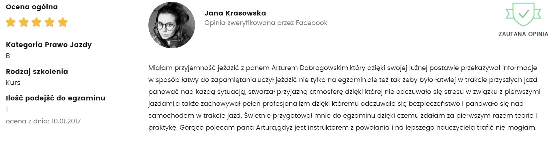 jana krasowska