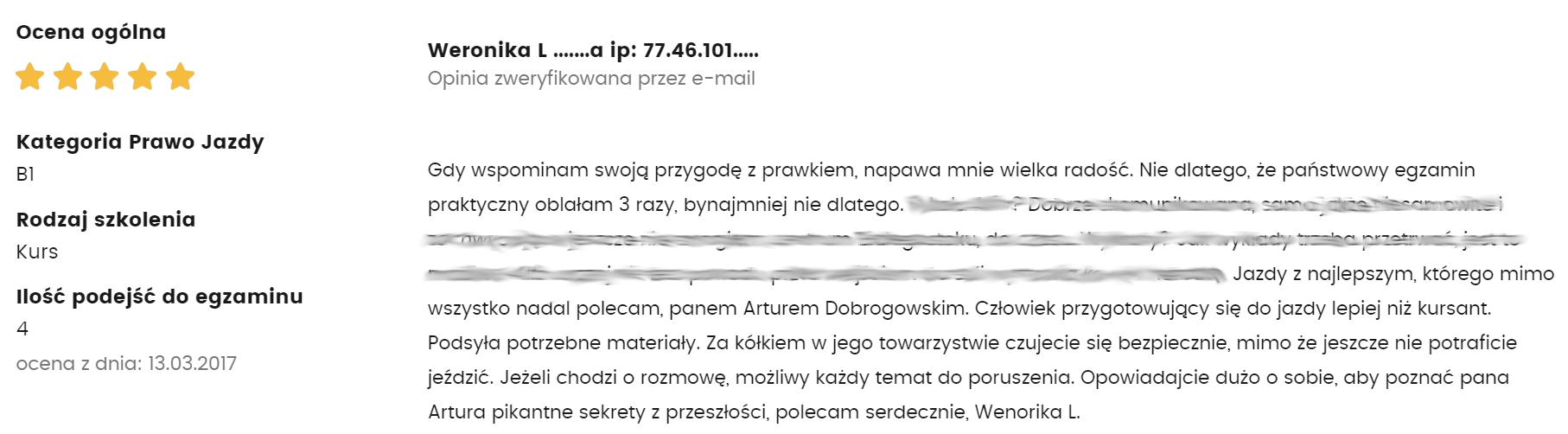 weronika lubowicka
